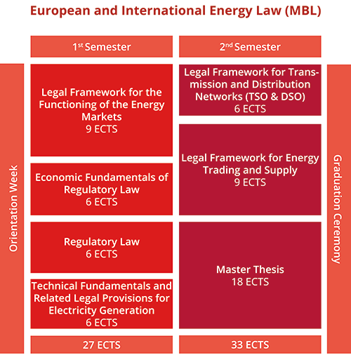 European and International Energy Law MBL European and International Energy Law MBL